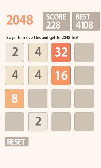 2048 đang trở thành tựa game giải đố hot nhất hiện nay