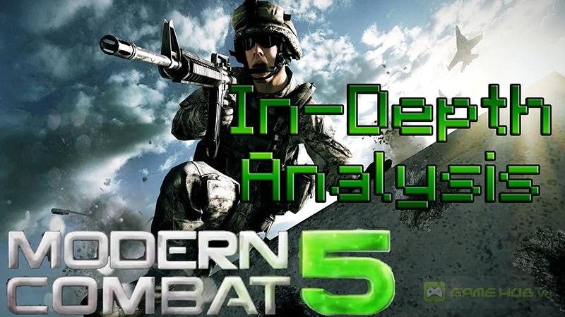 Siêu phẩm Modern Combat 5 sẽ ra mắt trong hè này