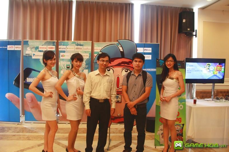 Những bóng hồng của Vietnam Mobile Day 2014