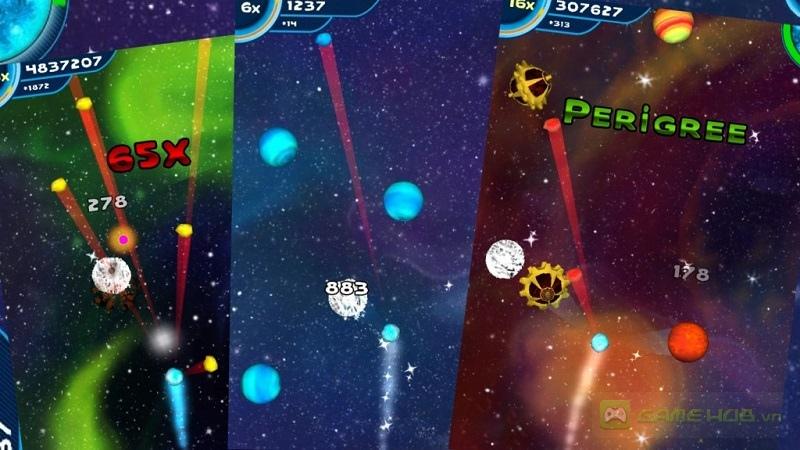 Save the Comet là một tựa game giải trí với đồ họa hấp dẫn của dải ngân hà huyền bì