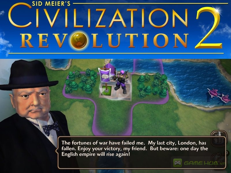 Game Civilization Revolution 2 chiến thuật mobile