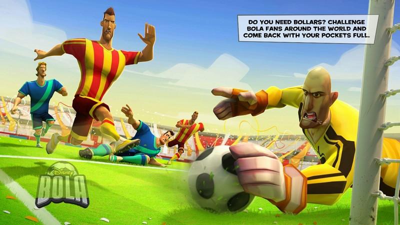 Disney ra mắt Bola Football - Cầu trường ảo thử lửa tay chơi