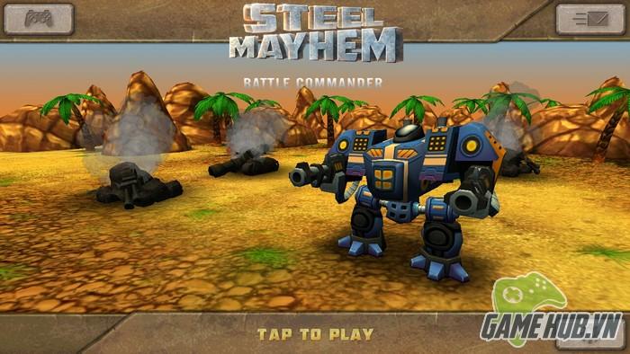 Steel Mayhem - Siêu robot đại chiến trên Mobile GameHubVN-Steel-Mayhem-Sieu-robot-dai-chien-tren-Mobile-3