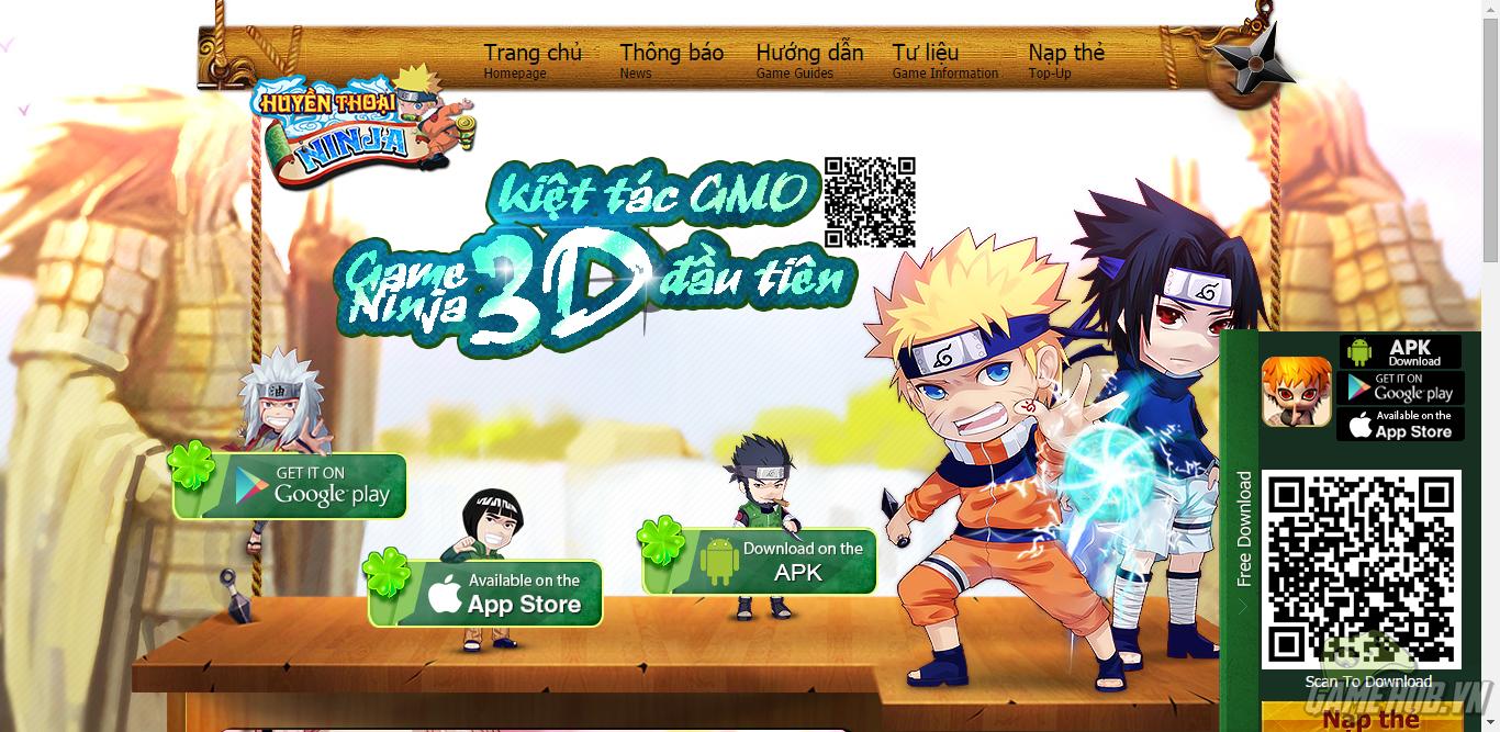 Top 5 game mobile Naruto hấp dẫn nhất Việt Nam