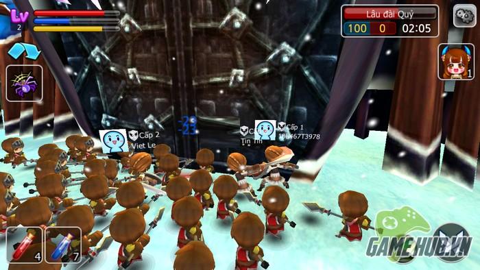 gMO Castle Master 2 - Chiến thuật Clash of Clans bắt tay nhập vai hành động