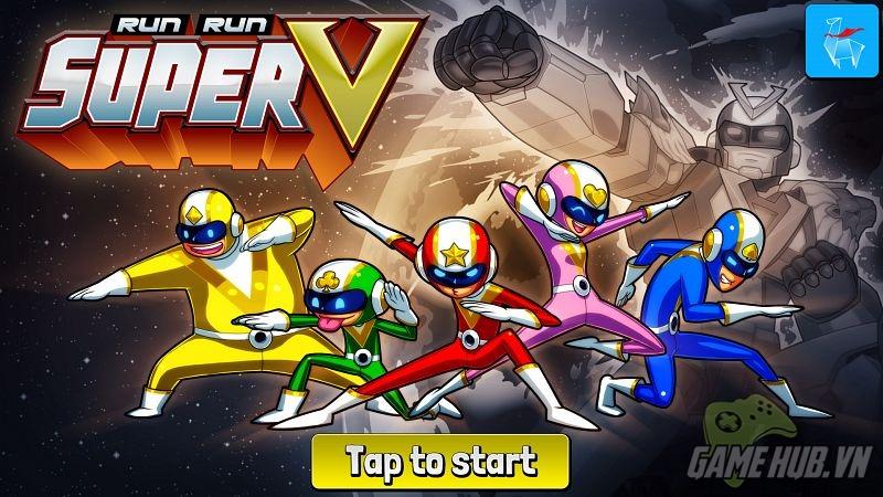 Run Run Super V - Siêu nhân điện quang hân hoan diệt quái