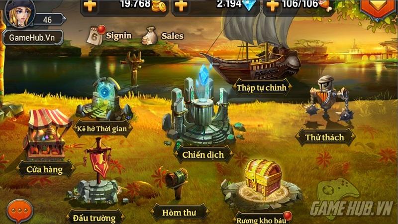Heroes Charge - Phiên bản hỗ trợ tiếng Việt chưa làm hài lòng game thủ