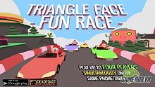 Triangle Face Fun Race - Hấp dẫn với game mobile đua xe cổ điển