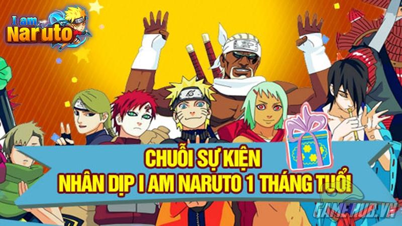 I Am Naruto - Tri ân game thủ kỉ niệm 1 tháng ra mắt