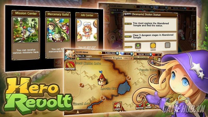 Hero Revolt sẽ được VTC Game phát hành vào tháng 12/2014