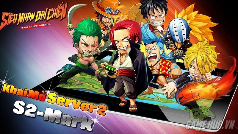 Siêu Nhân Đại Chiến – Game thủ đón bão quà tặng từ server thứ 2 mang tên Mark