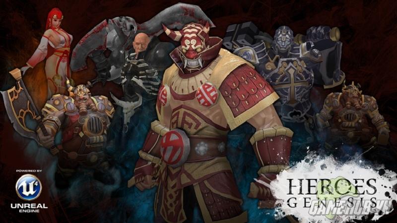 Heroes Genesis - gMO bom tấn dùng Unreal Engine 4