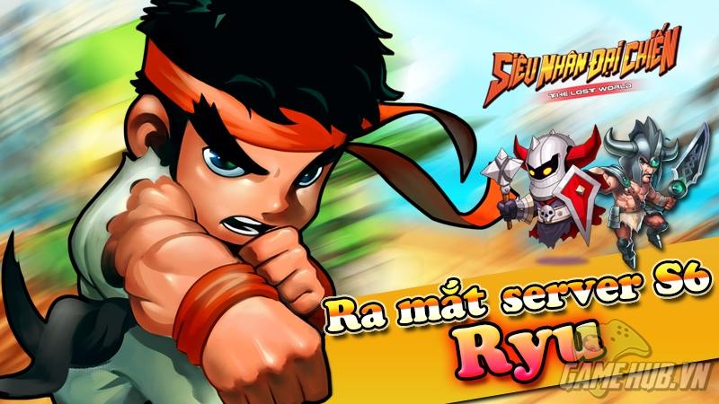 Siêu Nhân Đại Chiến chào đón linh hồn Street Fighter - Ryu