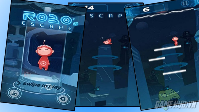Robo's Escape: Giúp chú Robo dễ thương chạy trốn