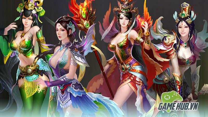 gMO Tiên Quốc Chiến - Tựa game tiên cảnh đã có mặt tại Việt Nam