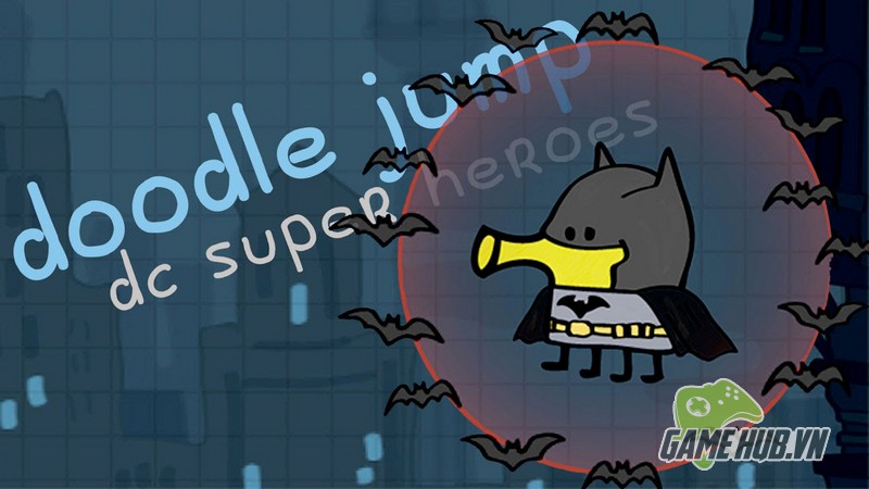 Doodle Jump DC Super Heroes - Siêu anh hùng tí hon