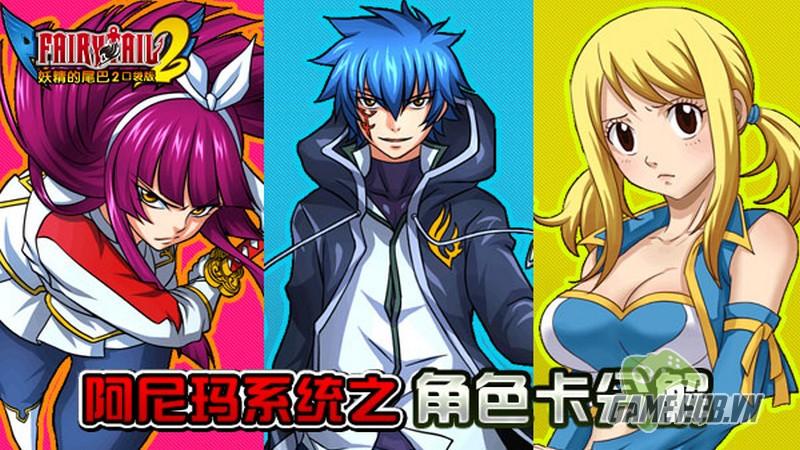 gMO Fairy Tail 2 - Manga Fairy Tail phiên bản Mobile