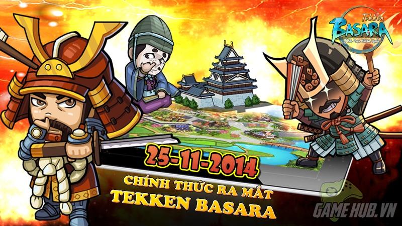 Tekken Basara – Chiến quốc chính thức bùng nổ