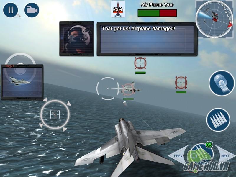 FoxOne - Tựa game không chiến hấp dẫn nhất trên mobile