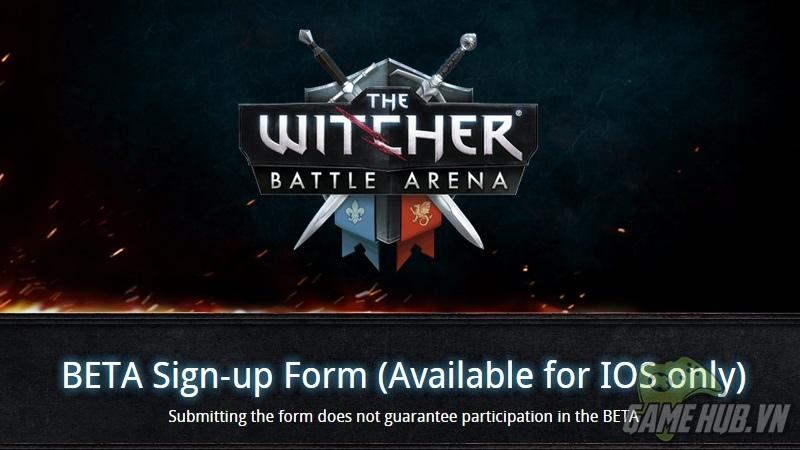 Game thủ iOS đã có thể chơi The Witcher Battle Arena