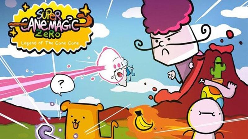 "Super Cane Magic ZERO - Game ""bựa"" sắp tấn công Mobile"
