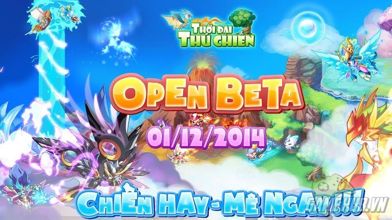 Thời Đại Chiến Thú - Chính thức Open Beta 1/12/2014