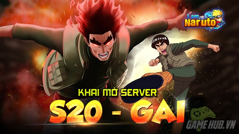 I am Naruto khai mở server mới Gai cùng gói Giftcode khủng