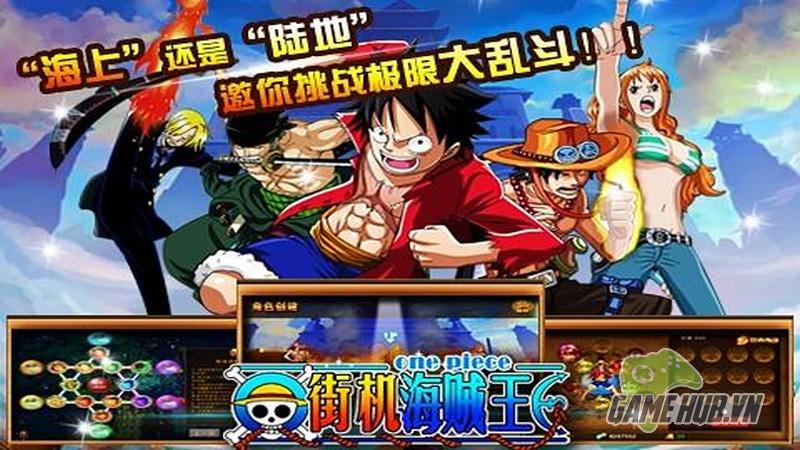 gMO One Piece Mobile - Vượt biển cùng đội quân One Piece