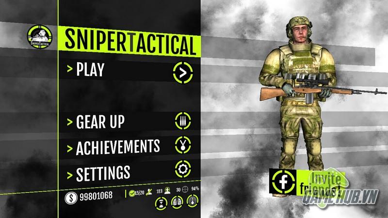 Sniper Tactical - Bom tấn thể loại bắn súng góc nhìn thứ nhất