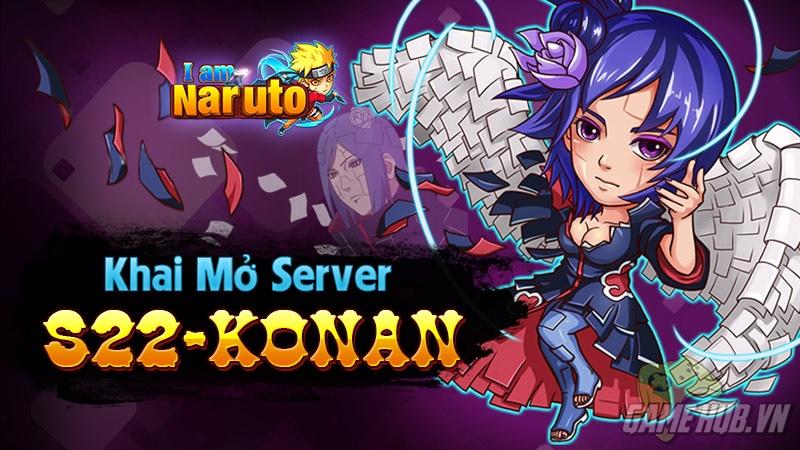 I Am Naruto - BigUpdate cùng máy chủ Konan