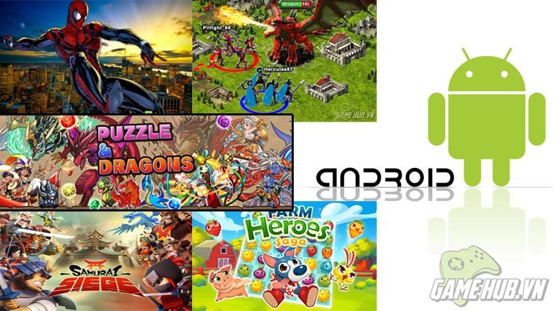 Top game mobile phổ biến trên Google Play trong 2014 (P.2)
