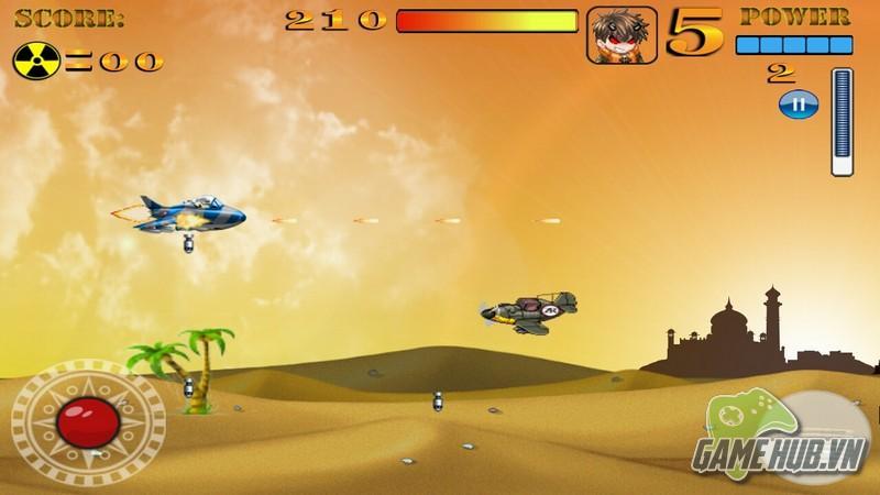 Giải trí hấp dẫn cùng tựa game Falcon Raider