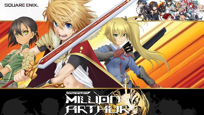 MILLIONARTHUR - Siêu phẩm game Anime đến...