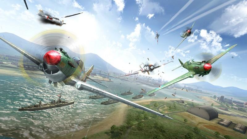 Sky Gamblers: Storm Raiders - Không chiến kinh thiên với gMO bom tấn