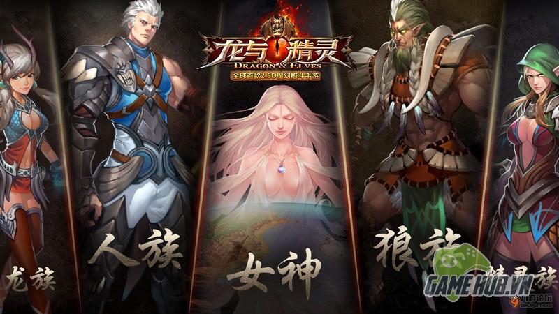 gMO Dragon & Elves - Cuộc chiến chống rồng Allfit