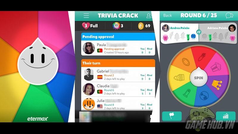 Trivia Crack công phá bảng xếp hạng App Store tại Mỹ