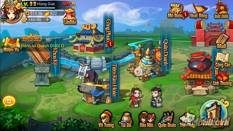 Loạn Tam Quốc tung ảnh Việt hóa, ra mắt Close beta 31/12/2014
