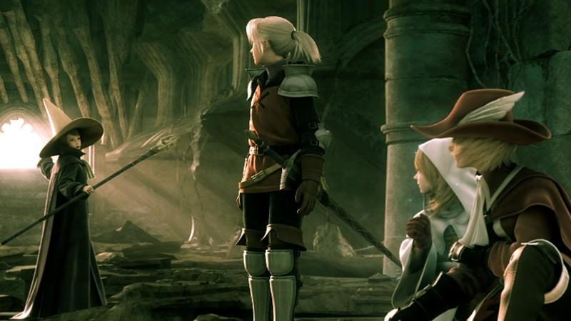 Final Fantasy III - Sống lại một huyền thoại JRPG