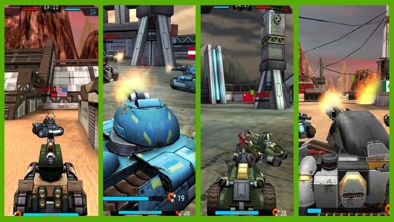 Tank Hit - Tăng chiến điên cuồng cùng siêu phẩm gMO