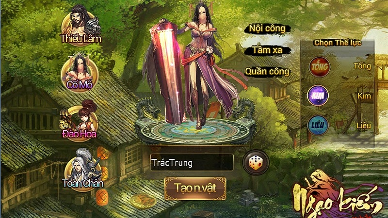 Ngạo Kiếm Mobile - Giftcode Cổ Mộ
