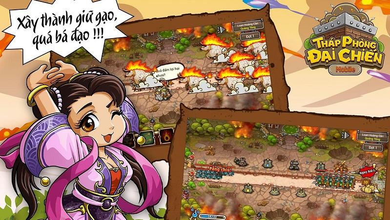 Tháp Phòng Đại Chiến - Game thủ thành Tam Quốc thuần Việt vui nhộn - iOS/Android