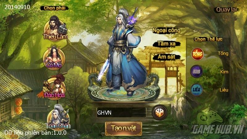 Ngạo Kiếm Mobile - Giftcode Hoàng Sơn