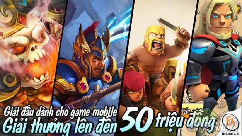 Giải đấu mobile dành cho các game thủ Hà Nội