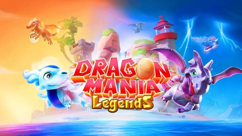 Dragon Mania Legends - Siêu phẩm huấn luyện Rồng đến từ Gameloft