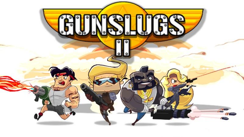 Gunslugs 2 - Contra bắt tay Rambo lùn đánh bom Mobile