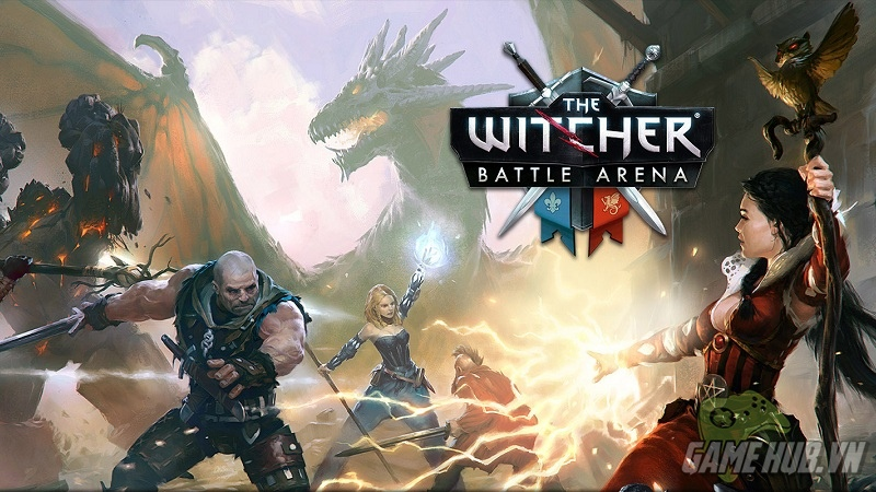 Trailer gMO MOBA The Witcher Battle Arena -...