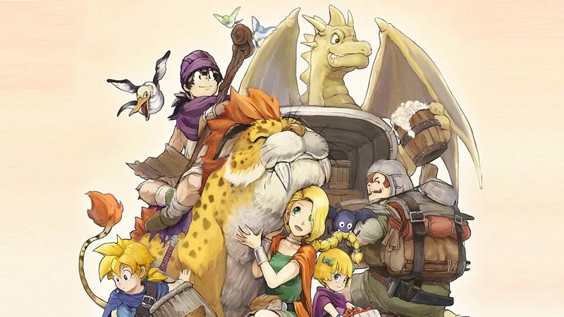 Dragon Quest V - Huyền thoại dấu ấn rồng thiêng đánh tiếng Mobile