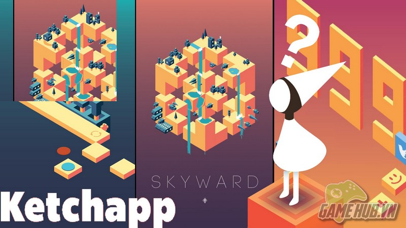 Skyward - Đối thủ đáng gờm của Monument Valley xuất hiện