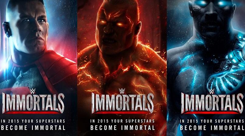 WWE Immortals - Game đối kháng siêu anh hùng bom tấn - iOS/Android