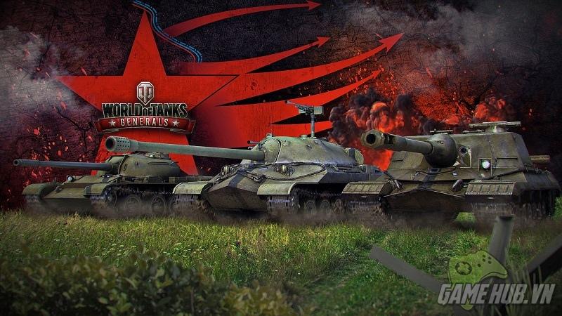 gMO World of Tanks Generals sắp ra mắt tại Việt Nam
